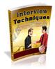 Thumbnail Interview Techniques Ebook