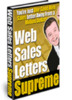 Thumbnail  Web Sales Letters Supreme eBook