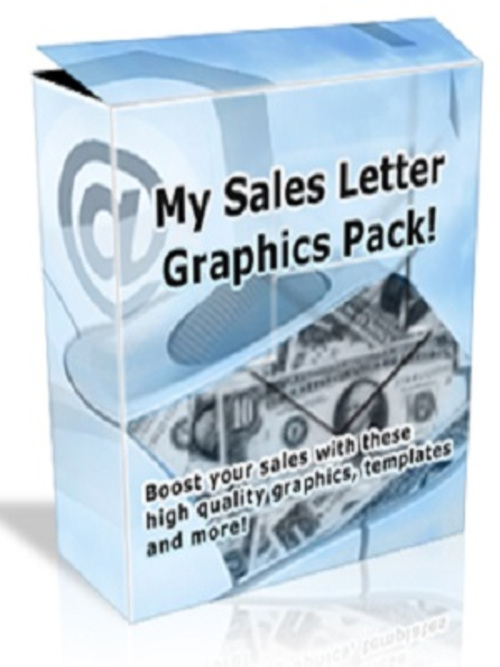 Product picture Sales Letter Graphics Pack